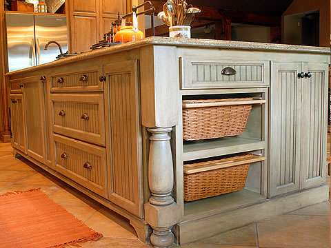How to give your kitchen a rustic italian makeover tdl for Semi custom cabinets
