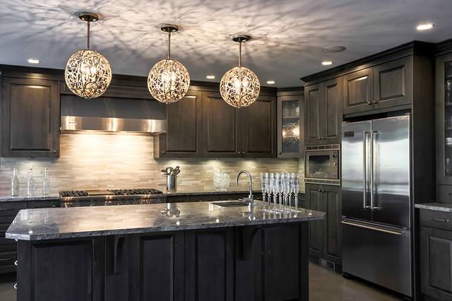 11 Stunning Photos of Kitchen Track Lighting | Family kitchen ...