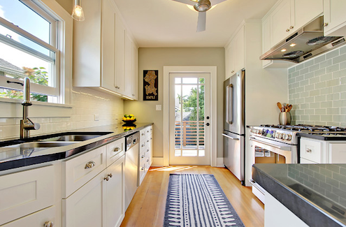 Designing a galley kitchen can be fun - Long galley kitchen ideas ...