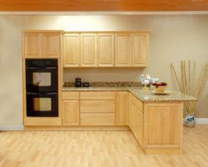 Semi-custom wood cabinets