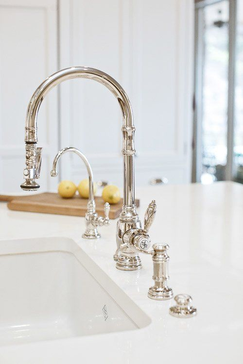Faucets & Fixtures That Liven Up a New Kitchen
