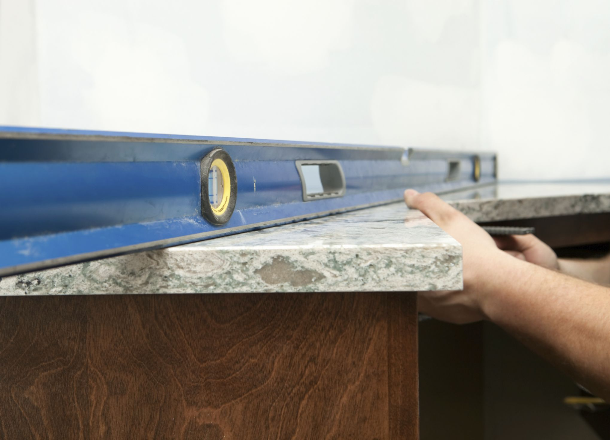 Installing Kitchen Countertops Requires An Accurate Template